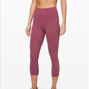 "Lululemon Align Crop 21"" Pants - Plumful Color"